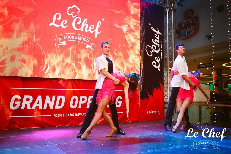 Opening of Le Chef Grand Mall