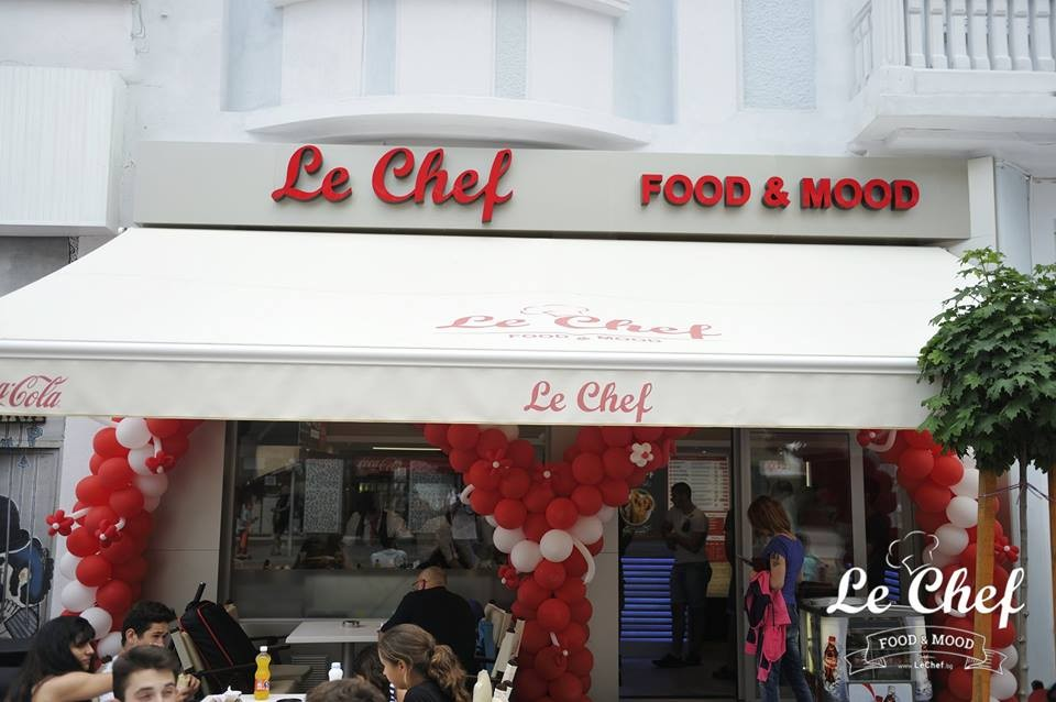 Opening of Le Chef - Sevastopol