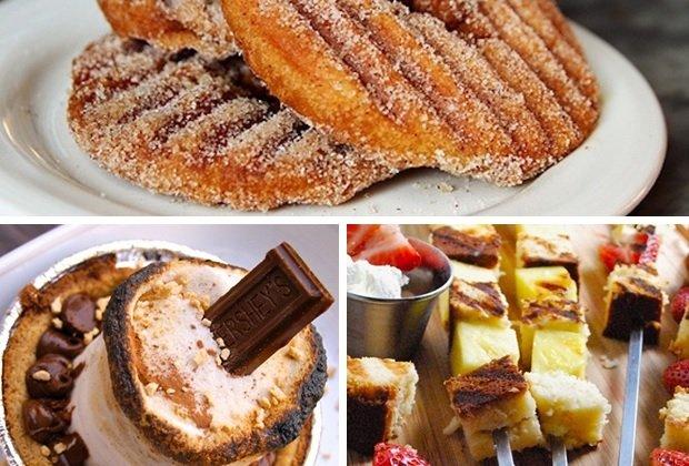 10 десерта, които могат да се приготвят на грил