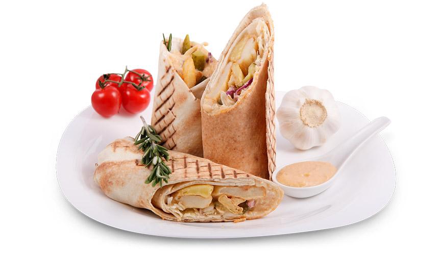 Грил сандвич: Хумус