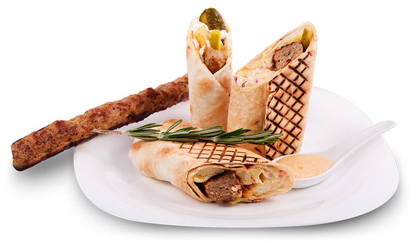 Грил сандвич: Шиш кебап