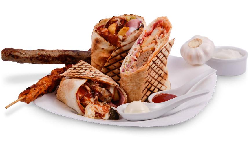 Грил сандвич: Специалитет Le Chef