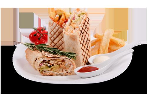 Грил сандвич: Патата